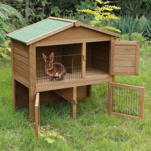 Casa Para Conejos De Dos Niveles Songmics Tienda Solidaria De